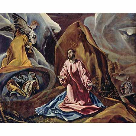 El Greco Hz İsa Ölberg'de