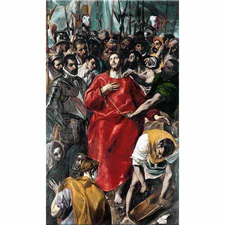 El Greco İsa'nın Tutuklanışı ve Elbisesinin Çıkarılışı