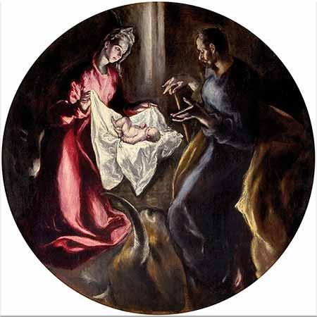El Greco Meryem ve Çocuğu