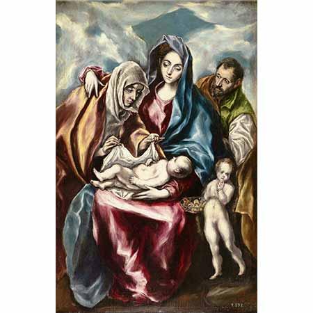 El Greco Meryem ve Çocuğu ve Yahya