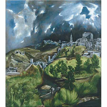 El Greco Toledo Manzarası