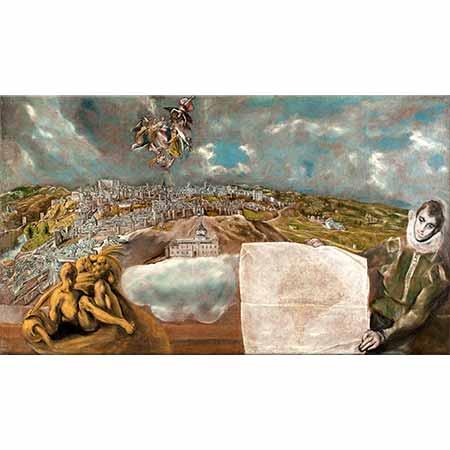 El Greco Toledo'ya Bakış