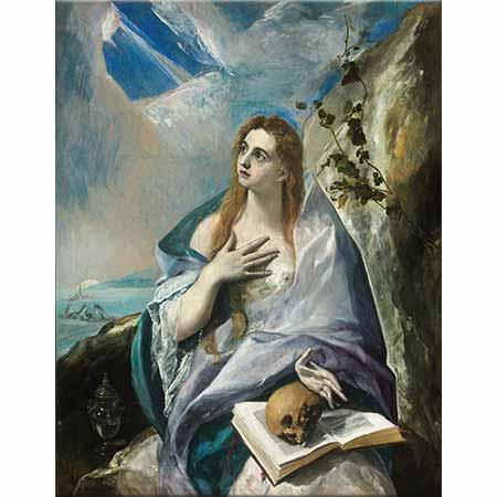 El Greco Tövbekar Magdalena