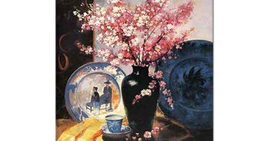 Elçi Erdiren Vazoda Bahar Çiçekleri