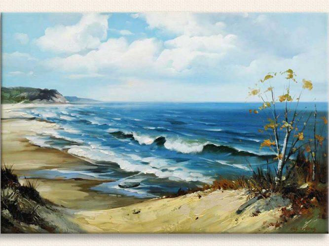Elçi Erdiren Şile Kıyısından tablosu
