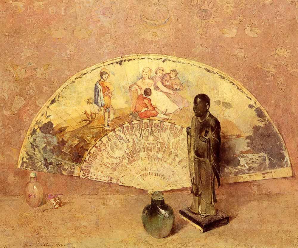 Emil Carlsen Fransız Yelpazesi