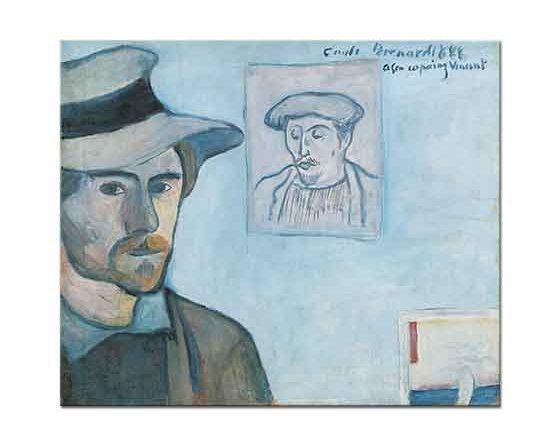 Emile Bernard Gauguin ve Kendi Portresi
