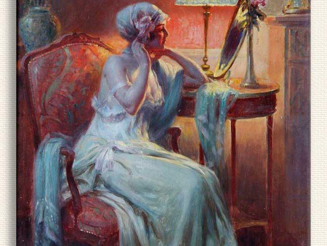 Delphin Enjolras Ayna tablosu