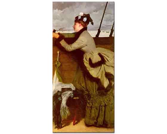 Ernest Ange Duez Denize Bakış