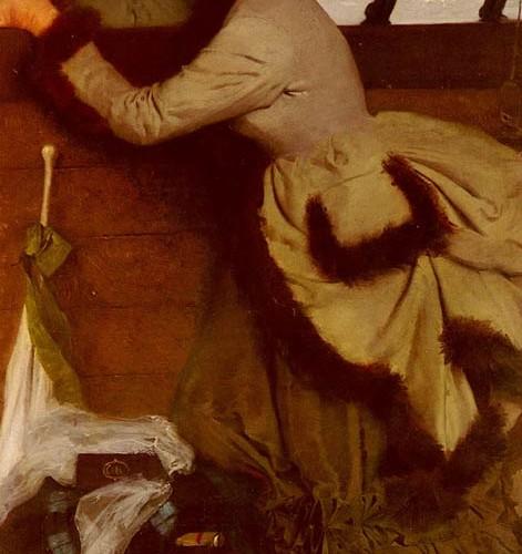 Ernest Ange Duez Denize Bakış tablosu