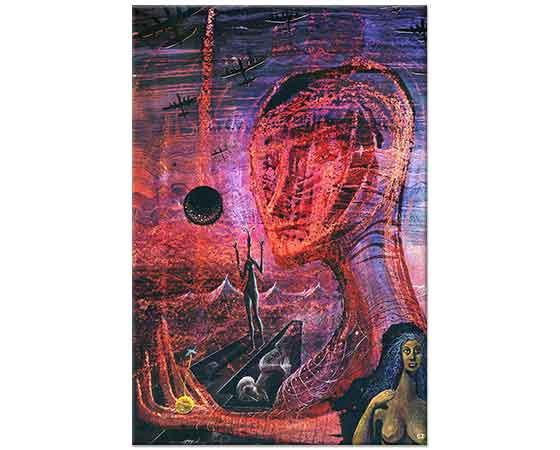Ernst Fuchs Portre