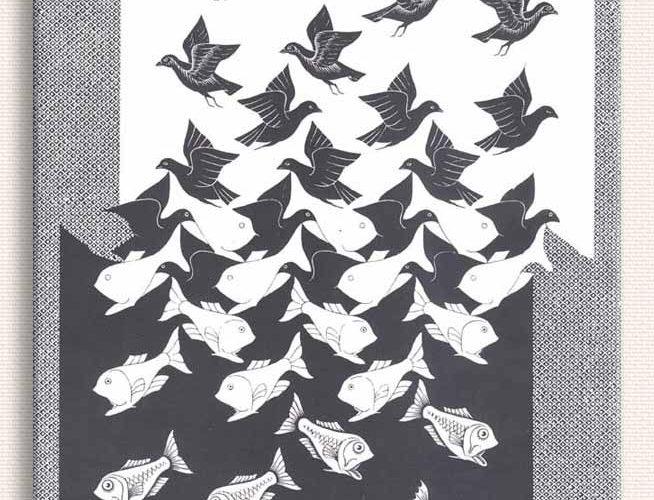 Maurits Cornelis Escher Gökyüzü ve Su II
