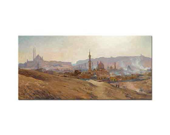 Etienne Dinet Kahire'ye Bir Bakış