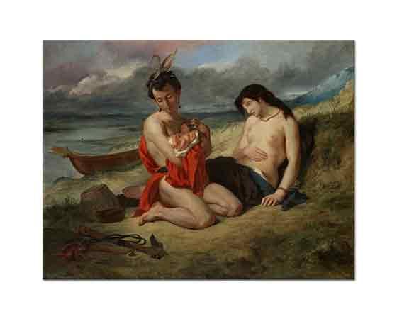 Eugene Delacroix Natchez'ler