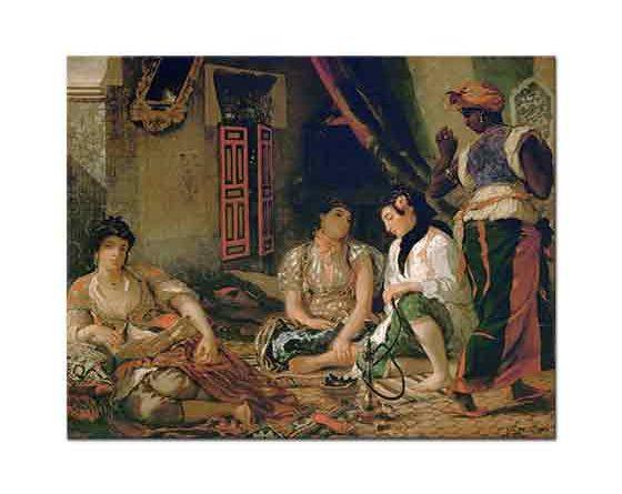 Eugene Delacroix Cezayirli Kadınlar
