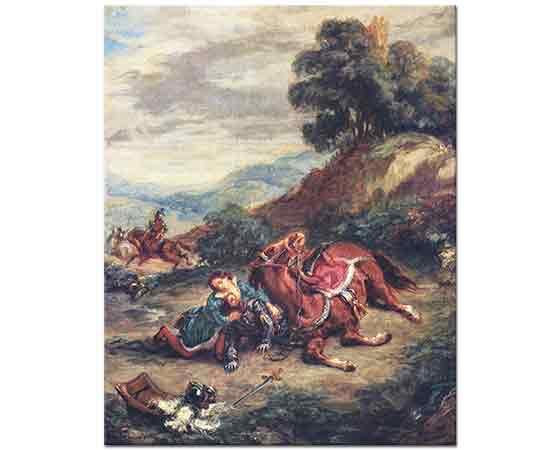 Eugene Delacroix Lara'nın ölümü