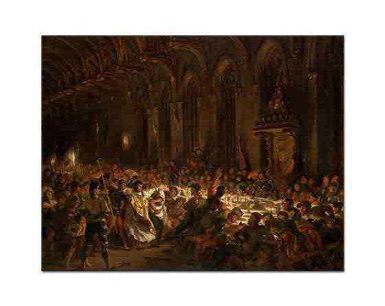 Eugene Delacroix Liege Piskoposu'nun öldürülmesi