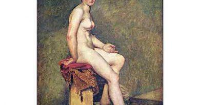 Eugene Delacroix Matmazel Rose