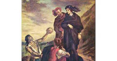 Eugene Delacroix Mezarlıkta Hamlet ve Horatio