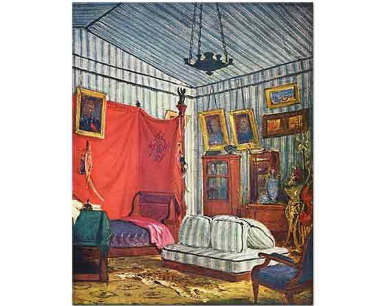 Eugene Delacroix Yatak Odası