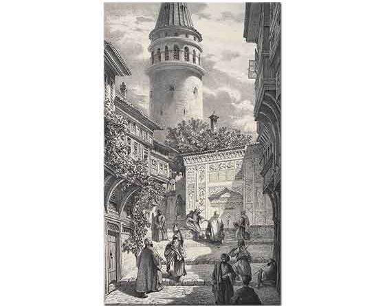 Eugene Napoleon Flandin Galata Sokağı