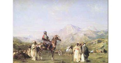 Eugene Fromentin Atlas Dağlarında Kamp