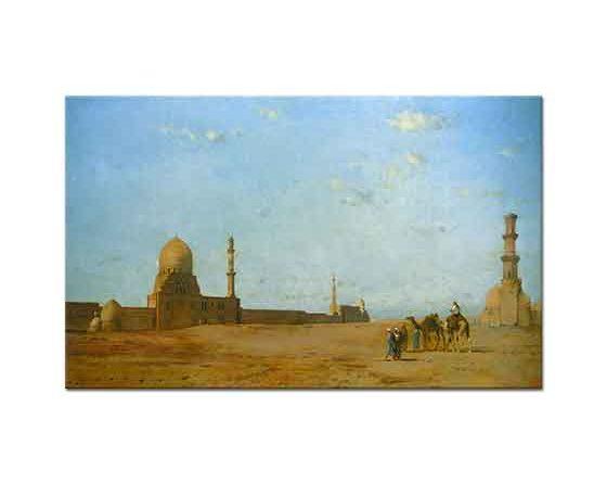 Eugene Fromentin Kahire'de Halifelerin Mezarları