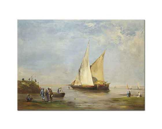Eugene Fromentin Nil'de Tekneler