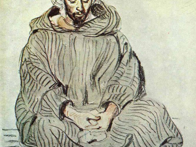 Eugene Delacroix Oturan Arap tablosu