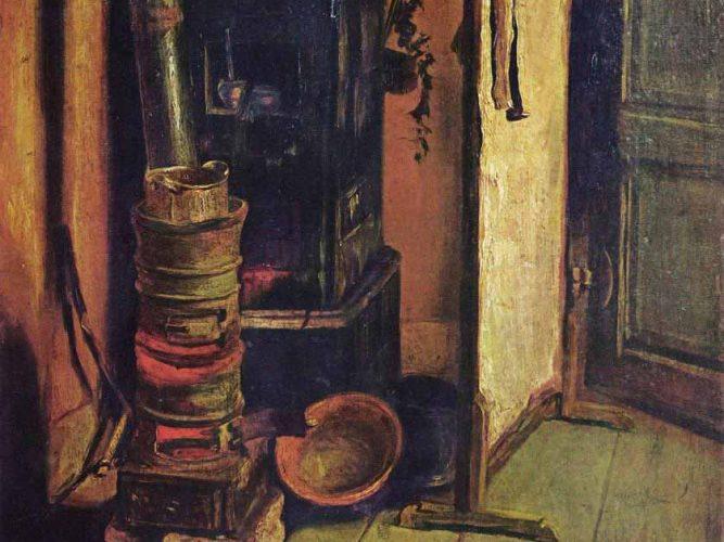 Eugene Delacroix Atelyeden Bir Köşe