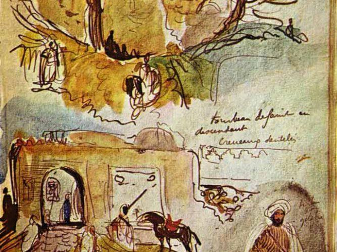 Eugene Delacroix Surlar tablosu
