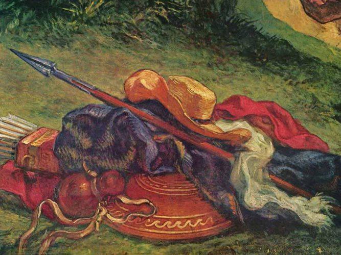 Eugene Delacroix Yakup'un Melekle Savaşından