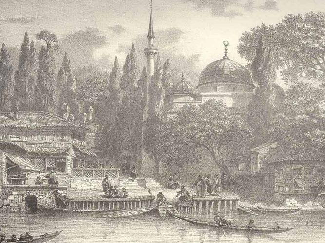 Eugene Napoleon Flandin Beşiktaş iskelesi