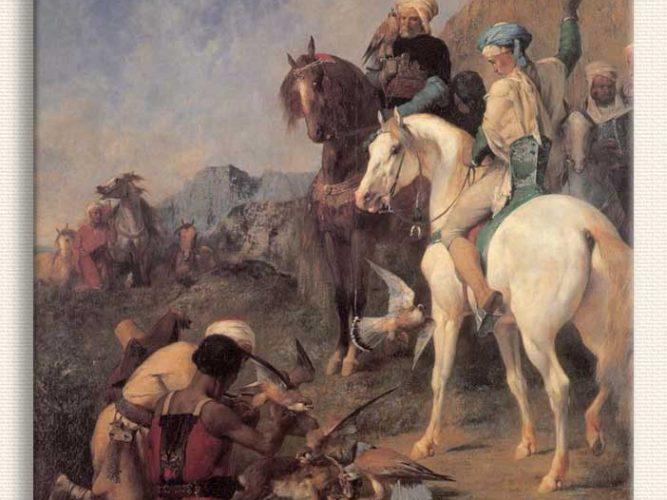 Eugene Fromentin Cezayir'de Şahin Avı