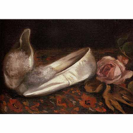 Eva Gonzales Beyaz Ayakkabılar