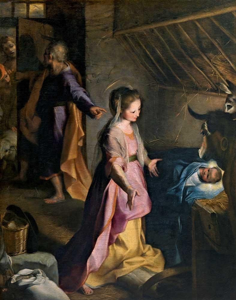 Federico Barocci Isa'nın Doğumu