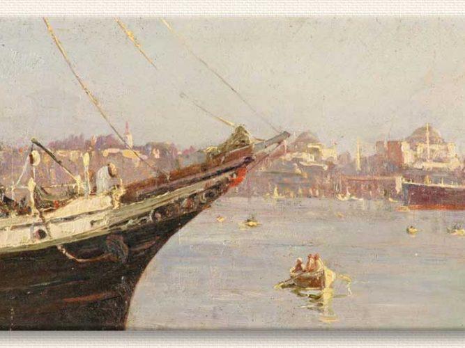 Ferik Ibrahim Paşa Haliç tablosu