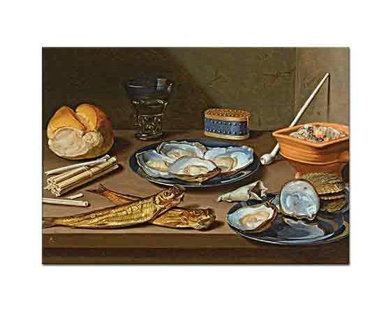Floris Claesz van Dijck Balıklı Natürmort