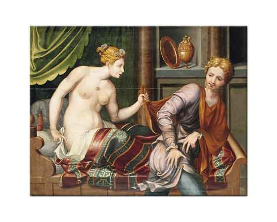 Fontainebleau School Joseph ve Potiphar
