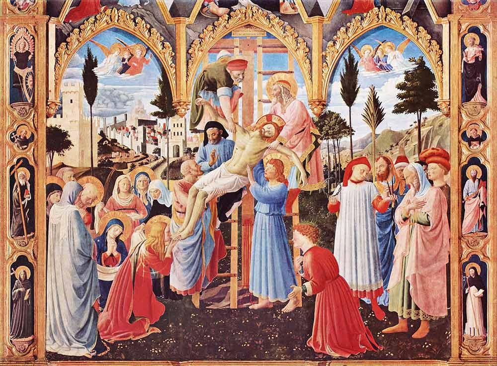 Fra Angelico Çarmıhtan indiriliş