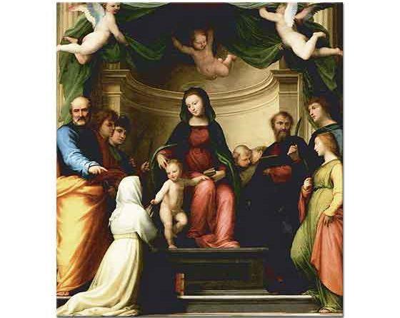 Fra Bartolomeo Azize Katerina'nın Beraberliği