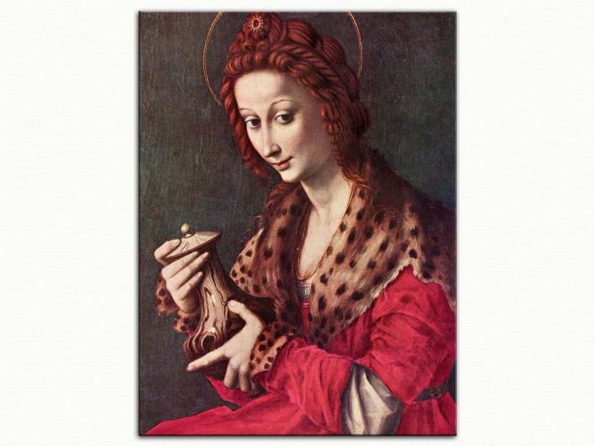 Francesco Bacchiacca Azize Maria Magdalena