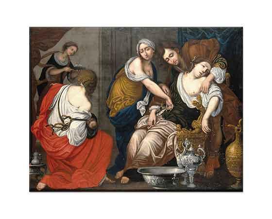 Francesco Furini Benjamin'in Doğumu ve Rachel'in Ölümü