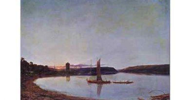 Francis Danby Gölde Günbatımı