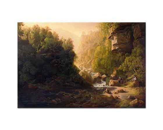 Francis Danby Torrent Dağı Manzarası