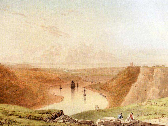 Francis Danby Severn Nehrine Bakış