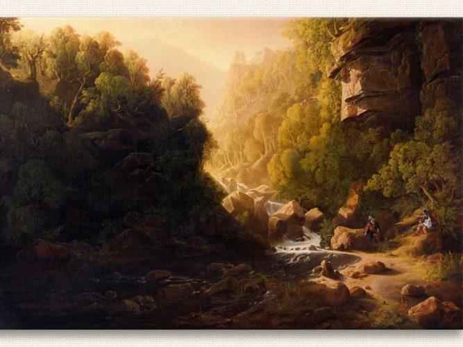 Francis Danby Torrent Dağı