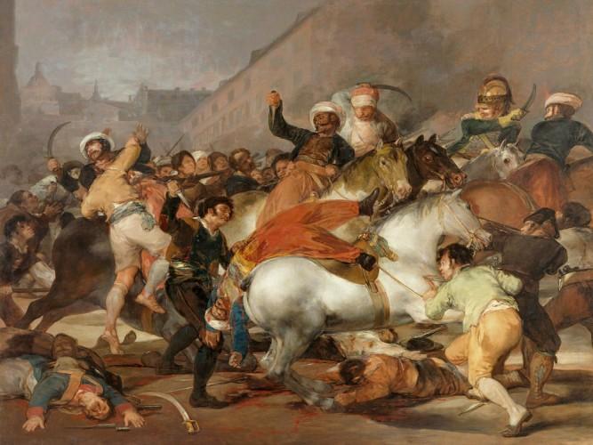 Francisco de Goya Lucientes 1808 Ayaklanması
