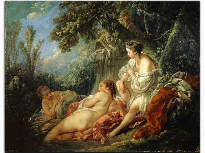 François Boucher Diana ile