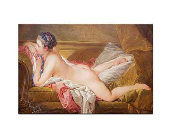 François Boucher Dinlenen Kız